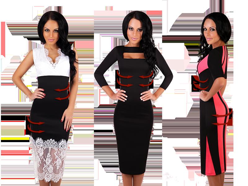 EniMode - платья с эффектом утяжки